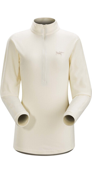 Arc'teryx Delta LT Zip Pullover Women Vintage Ivory